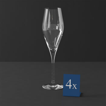 La Divina Flute Champagne : Set of 4 10 in
