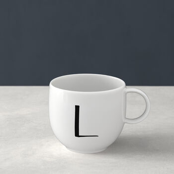 Letters Mug: L