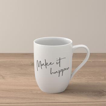 Statement Mug: Make it happen