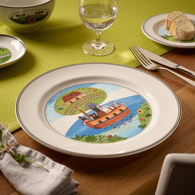Design Naif Dinner Plate #2 - Noah's Ark, , large