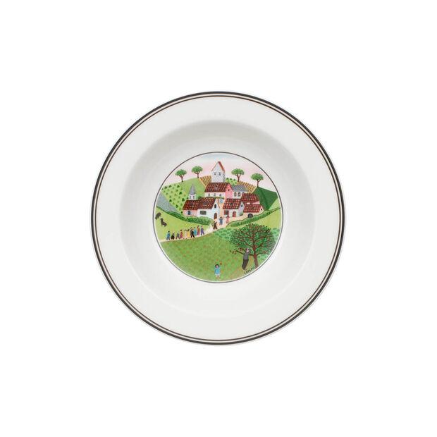 Design Naif Cereal Bowl: Wedding Procession, , large