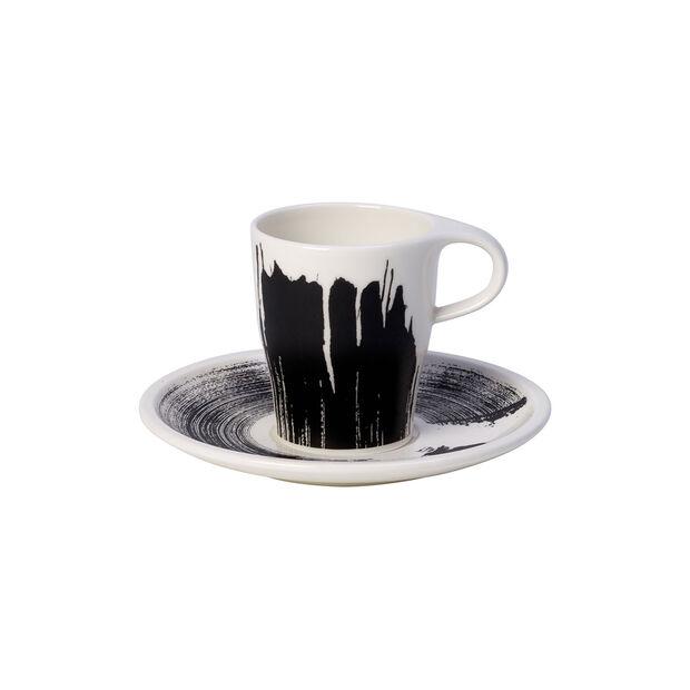 Coffee Passion Awake Doppio Espresso Cup & Saucer Set, , large