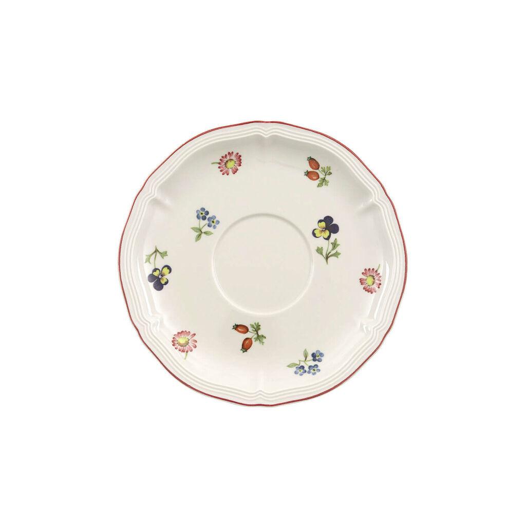 빌레로이 앤 보흐 쁘띠 플뢰르 수프컵 받침대 Villeroy & Boch Petite Fleur Breakfast/Cream Soup Cup Saucer