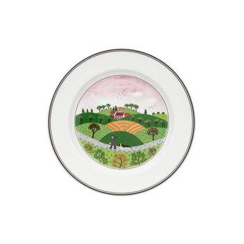 Design Naif Salad Plate #6 - Hunter & Dog