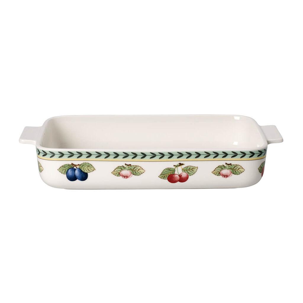 빌레로이 앤 보흐 프렌치 가든 베이킹 접시 Villeroy&Boch French Garden Baking Rectangular Baking Dish 12 x 8 in
