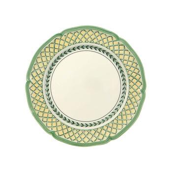 French Garden Orange Dinner Plate