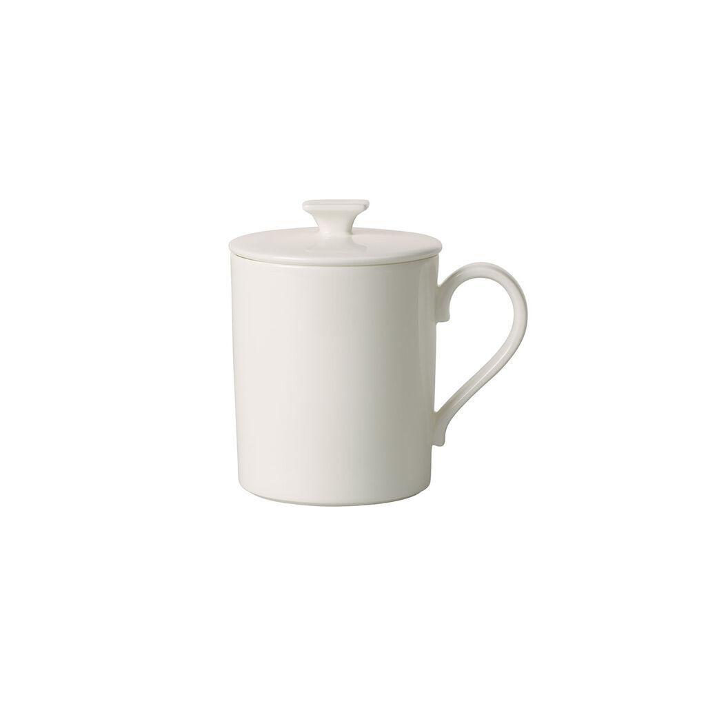 빌레로이 앤 보흐 '메트로 시크' 머그 Villeroy & Boch MetroChic blanc Gifts Mug with Lid 11.75 oz
