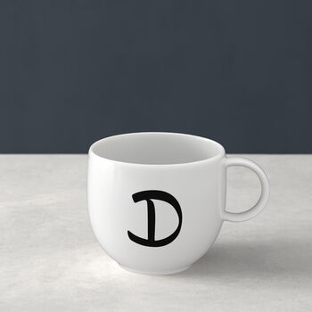 Letters Mug: D