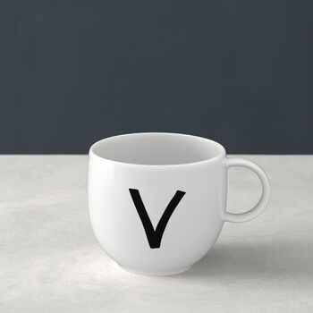 Letters Mug: V