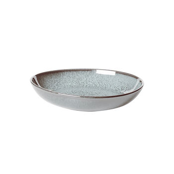 Lave Glace Flat Bowl, Small