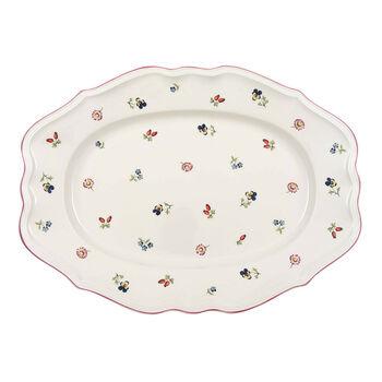 Petite Fleur Oval Platter, Small