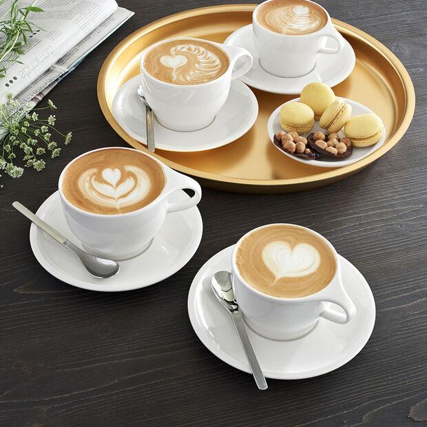 Coffee Passion Cafe au Lait Cup & Saucer Set, , large
