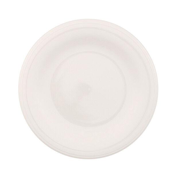 Color Loop Natural Dinner Plate, , large