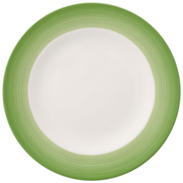 Colorful Life Green Apple Salad Plate, , large