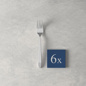 Daily Line Pastry Fork, Set of 6