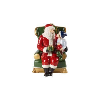 Christmas Toys Figurine: Santa on Armchair