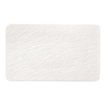 Manufacture Rock Blanc Rectangular Multifunctional Plate