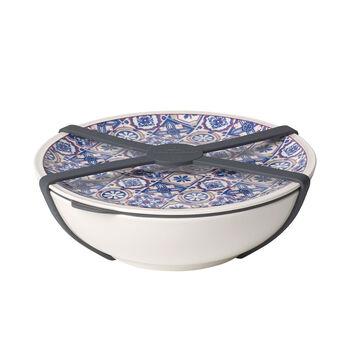 To Go Indigo Dish, Large