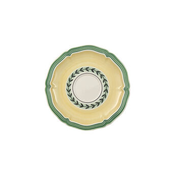 French Garden Fleurence Espresso Cup Saucer