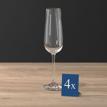 Purismo Champagne Glass, Set of 4