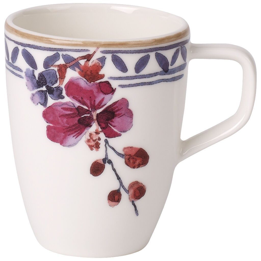 빌레로이 앤 보흐 아르테사노 에스프레소잔 Villeroy & Boch Artesano Provencal Lavender Espresso Cup 3.25 oz