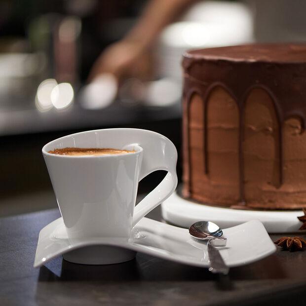NewWave Caffé Espresso Party Plate, , large