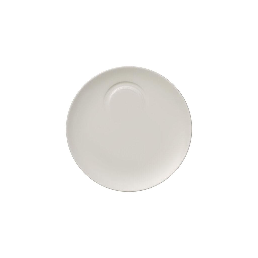 빌레로이 앤 보흐 '메트로 시크' 에스프레소잔 받침대 Villeroy & Boch MetroChic blanc Espresso Cup Saucer 5.75 in