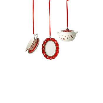 Toy's Delight Decoration Ornaments: Serveware, Set of 3