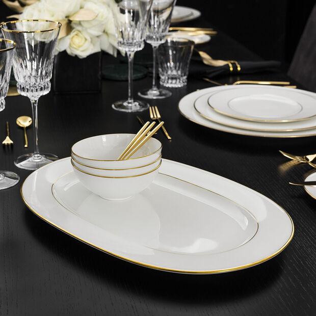 Anmut Gold Oval Platter, , large