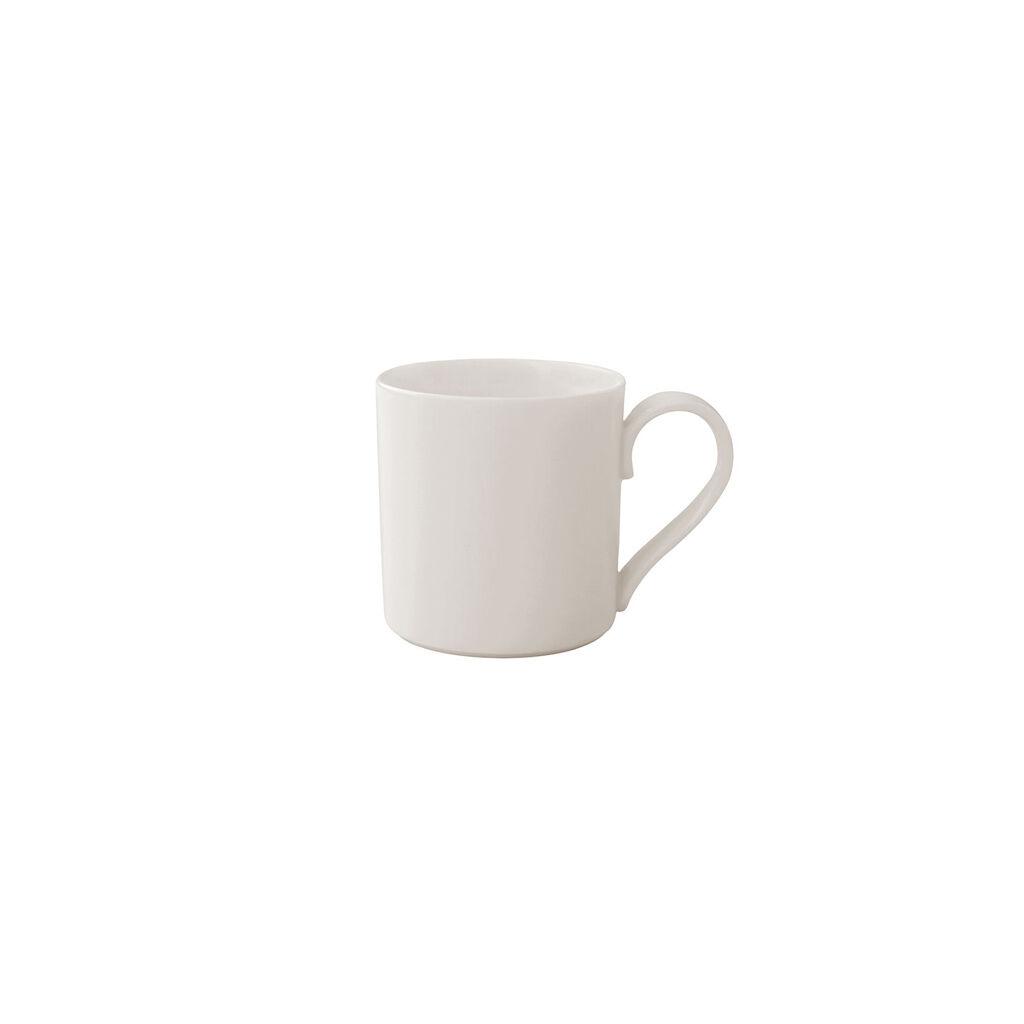 빌레로이 앤 보흐 '메트로 시크' 에스프레소잔 Villeroy & Boch MetroChic blanc Espresso Cup 2.75 oz