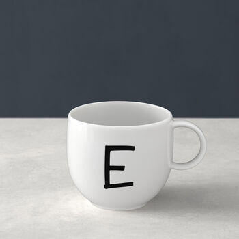 Letters Mug: E