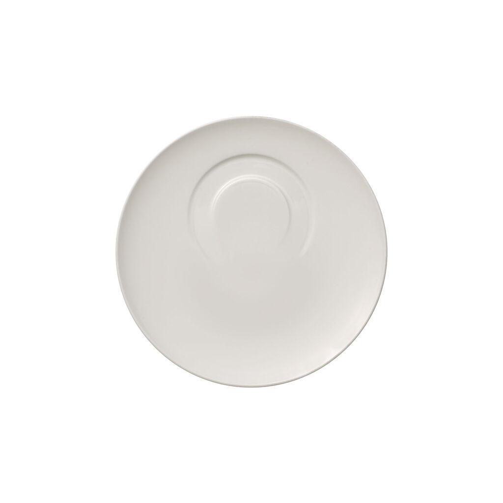 빌레로이 앤 보흐 '메트로 시크' 커피잔 받침대 Villeroy & Boch MetroChic blanc Coffee Cup Saucer 7.25 in