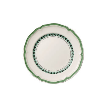 French Garden Green Line Salad Plate