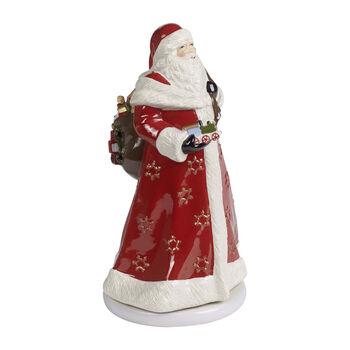 Christmas Toys Memories Figurine: Turning Santa