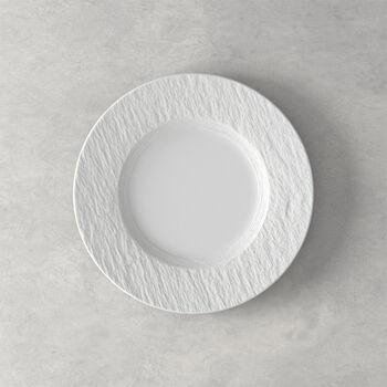 Manufacture Rock Blanc Salad Plate