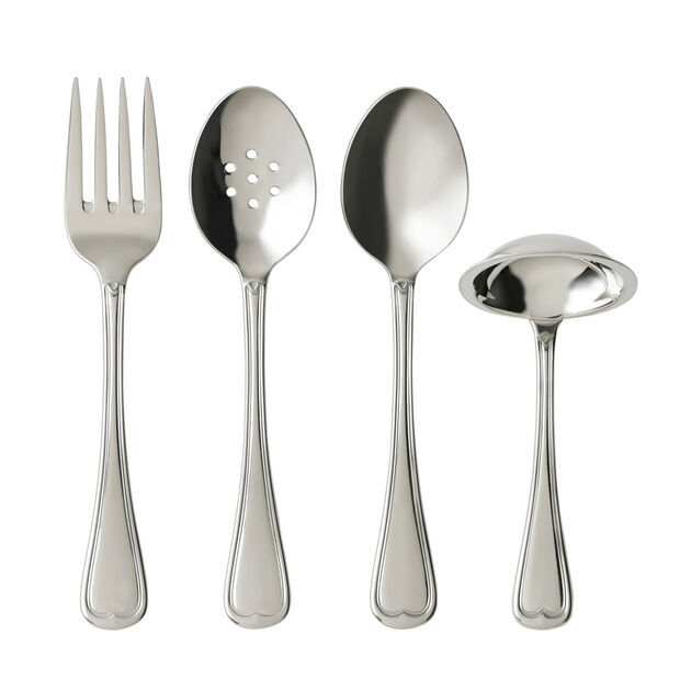 French Garden 4 Piece Flatware Serving Set, , large