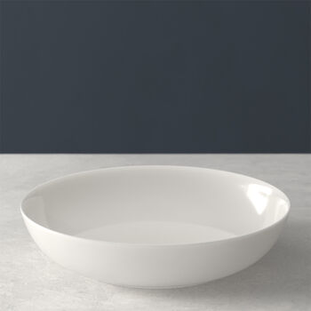 For Me Shallow Round Vegetable Bowl