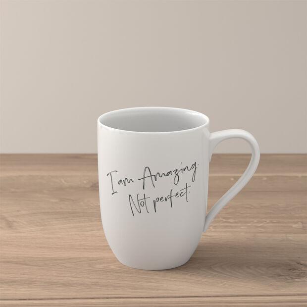 Statement Mug: Amazing. Not Perfect, , large