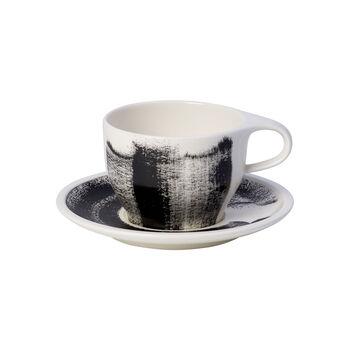 Coffee Passion Awake Cafe Au Lait Cup & Saucer Set