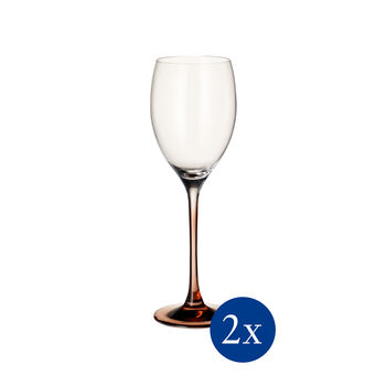 Manufacture Glass White Wine, Set of 2