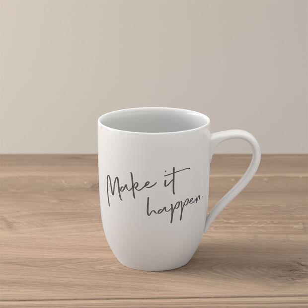 Statement Mug: Make it happen, , large
