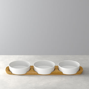 Pizza Passion Topping Bowl, Set of 4