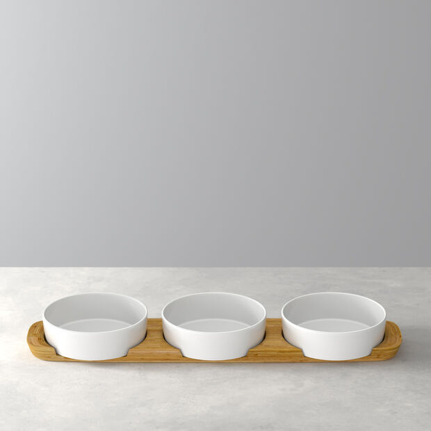 Pizza Passion Topping Bowl, Set of 4, , large