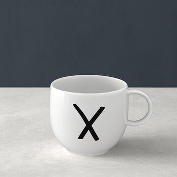 Letters Mug: X
