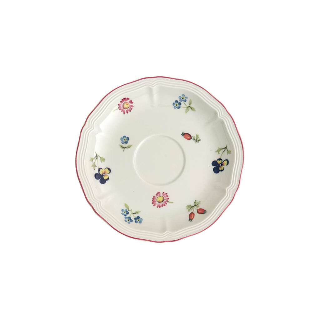 빌레로이 앤 보흐 쁘띠 플뢰르 찻잔 받침대 Villeroy & Boch Petite Fleur Teacup Saucer