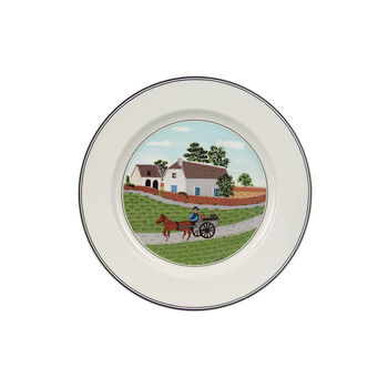Design Naif Salad Plate #1 - Going To Market