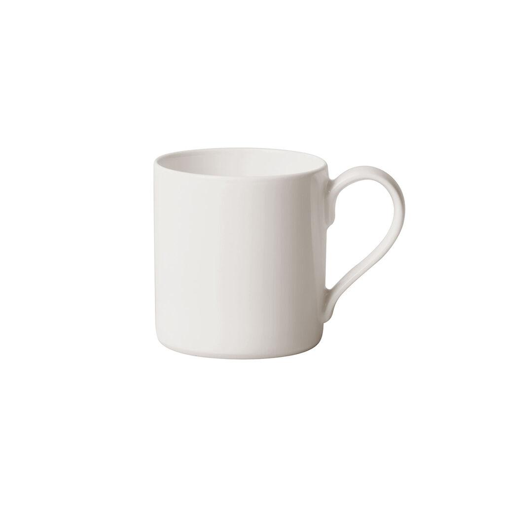 빌레로이 앤 보흐 '메트로 시크' 커피잔  Villeroy & Boch MetroChic blanc Coffee Cup 7 oz
