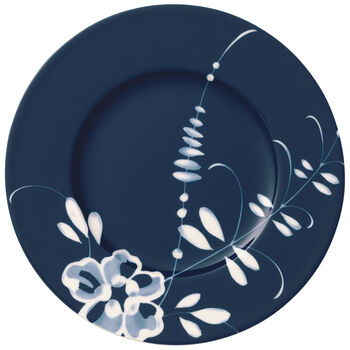 Old Luxembourg Brindille Appetizer & Dessert Plate: Blue