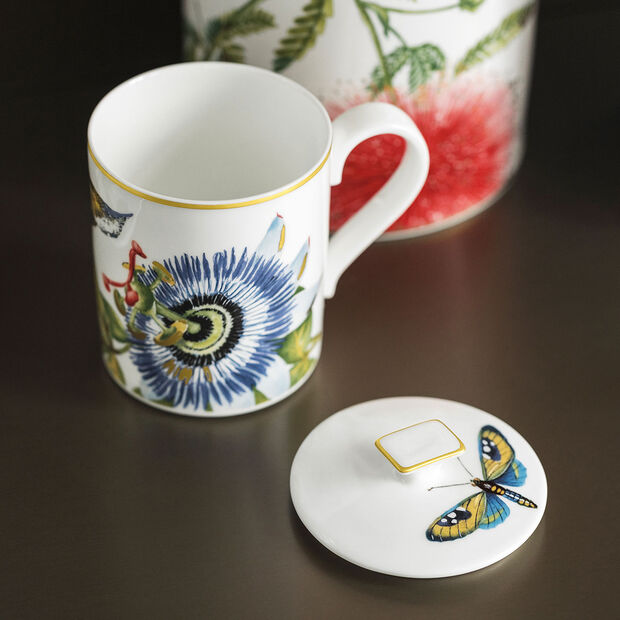 Amazonia Gifts Mug with Lid, , large