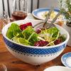 Casale Blu Round Vegetable Bowl, Large, , large